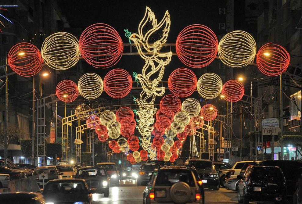 Светодиодные украшения для улиц